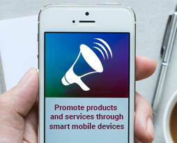 Promote Products And Services Through Smart Mobile Devices